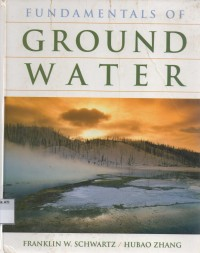 Image of Fundamentals of Ground Water